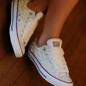 Bridal Converse Shoes Made for You